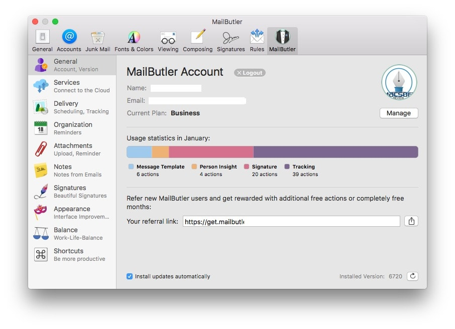 Mailbutler Business Mac review 1