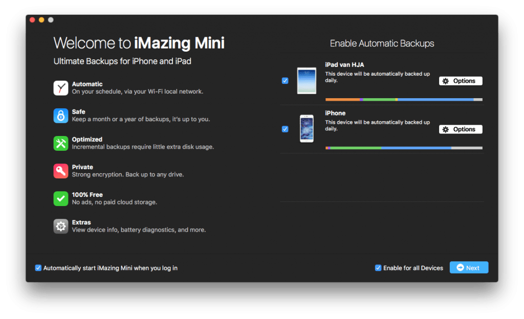 Imazing for Mac review 2