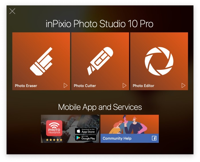 Inpixio Photo Studio 10 Pro Mac review 1