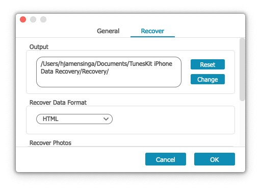 Tuneskit iPhone Data Recovery review 6
