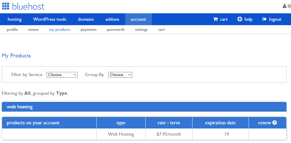 Bluehost Web hosting review 4