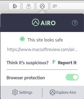 Airo Antivirus Mac review 2