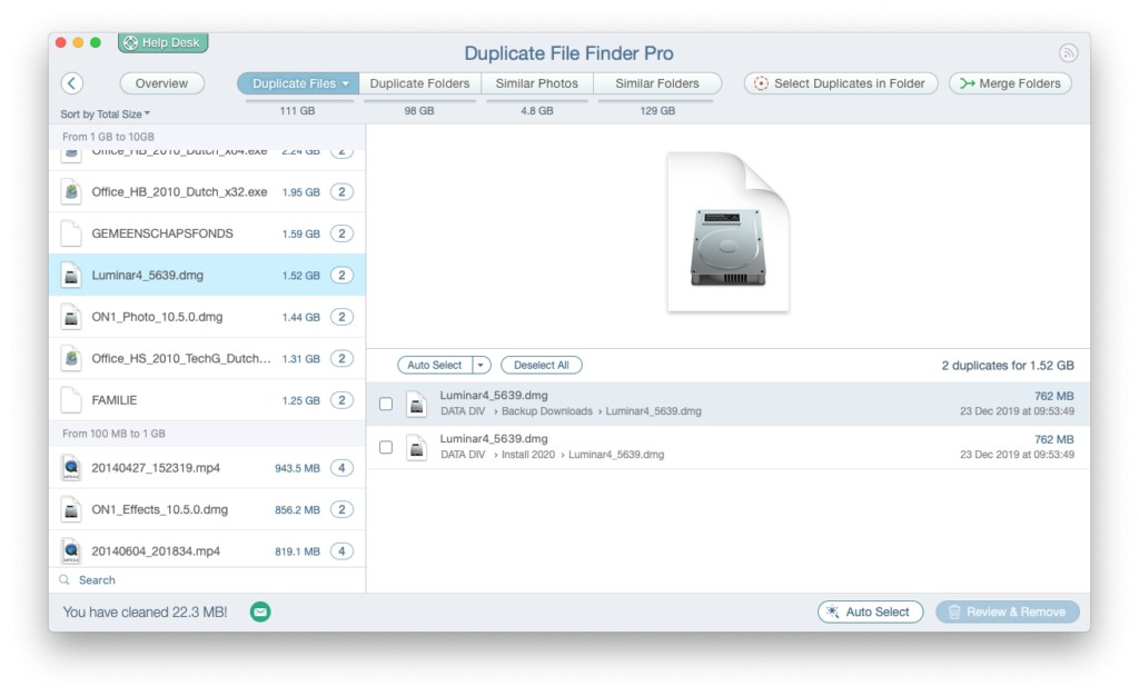 Duplicate File Finder Pro review 98