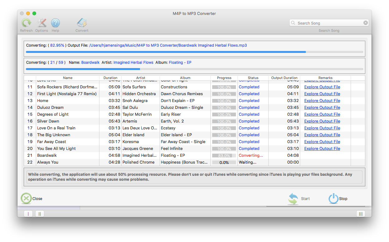 M4P to MP3 CONVERTER review | Macsoftreview